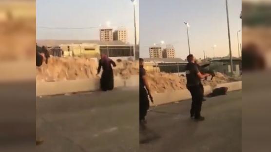 Siyonist katiller Filistinli kadını vurdu, yardımı engelleyerek ölmesini bekledi