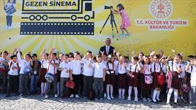 'Gezen Sinema Tırı' Ankara'dan yola çıktı
