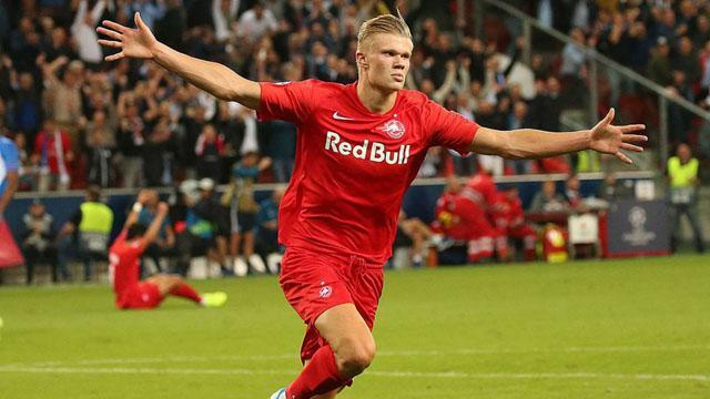 Avrupa futbolunun parlayan yıldızı Haland
