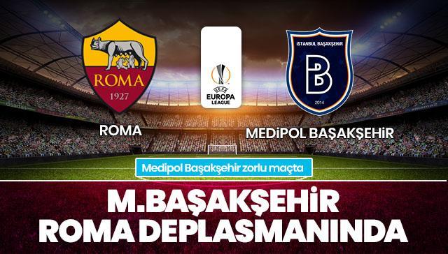 Roma-Medipol Başakşehir CANLI
