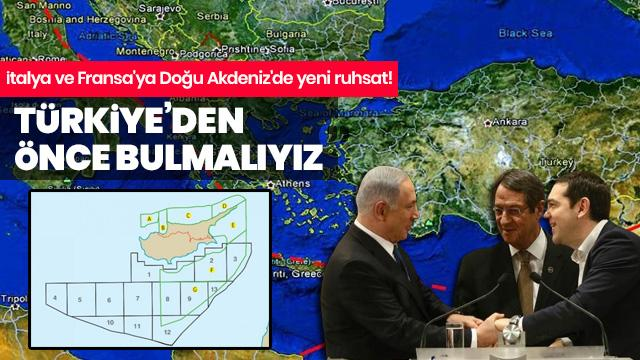 Rum Yönetimi ve Yunanistan Neyin Peşinde? İtalya ve Fransa'ya Doğu Akdeniz'de yeni ruhsat!