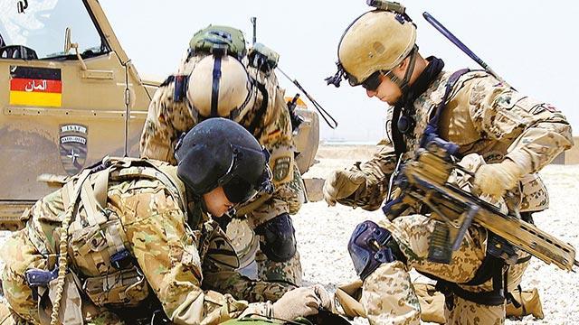 Almanya 1 yıl daha Irak'ta