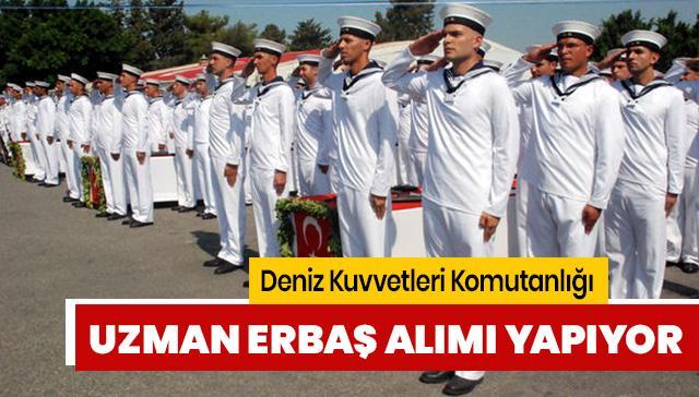 Deniz Kuvvetleri Komutanlığı uzman erbaş alımı yapılıyor: Deniz Kuvvetleri Komutanlığı başvuruları nasıl yapılır?