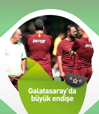 Galatasaray'da orta saha oyuncularının kondisyon eksikliği teknik ekibi endişelendiriyor