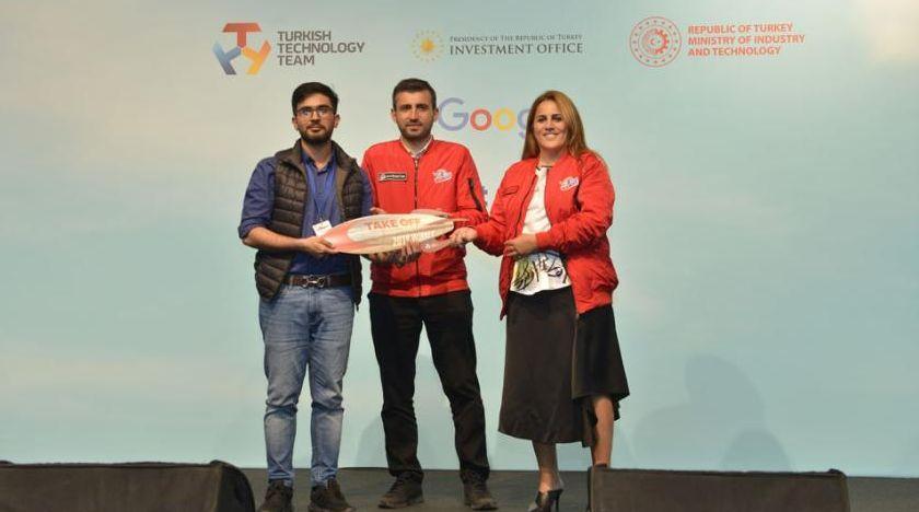 Yerli ve yabancı girişimciler Take Off İstanbul'da buluştu, en iyi girişimler ödüllendirildi