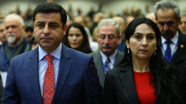 Kandil'in siyasi kanadı HDP'nin eski başkanları Demirtaş ve Yüksekdağ'a yeni soruşturma