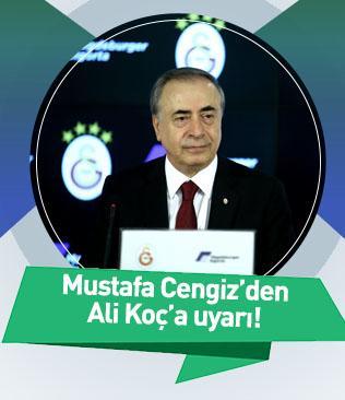 """Mustafa Cengiz: """"Kavga ve kaos istemiyoruz"""""""