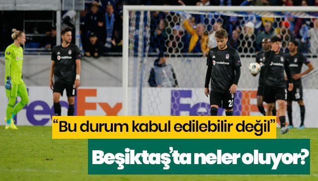 Beşiktaş'ta neler oluyor? Çarpıcı yorumlar...