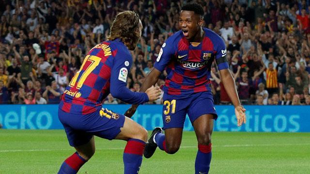 Barça'nın genç yıldızına İspanya milli takımı kapıları açıldı