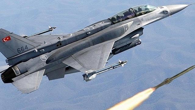 Hava kuvvetlerimiz Irak'ın kuzeyinde 2 teröristi etkisiz hale getirdi