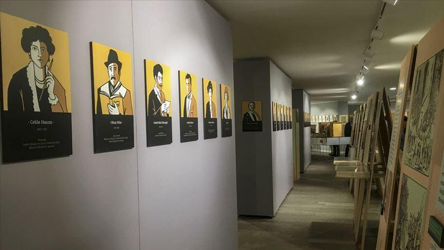 'Nazım'a Yolculuk' sergisi Ankara'da sanatseverlerle buluştu