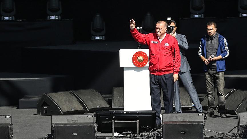 Başkan Erdoğan TEKNOFEST'te: Müthiş bir taleple karşılaştık