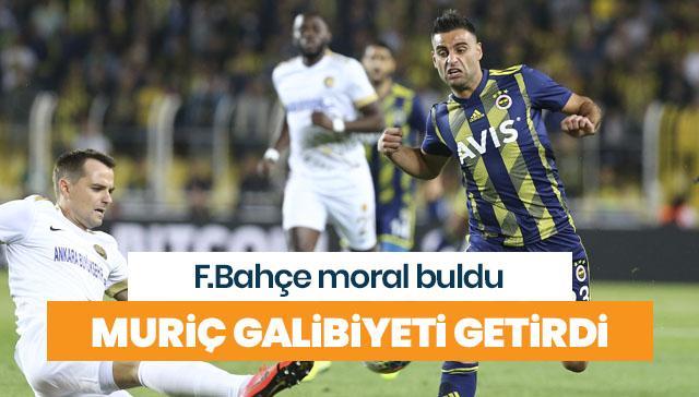 Fenerbahçe'ye üç puanı getiren gol Vedat Muriç'ten