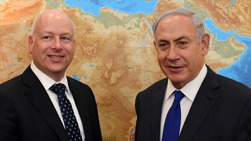 Trump'ın temsilcisi Netanyahu ile Yüzyılın Anlaşması'nı görüştü