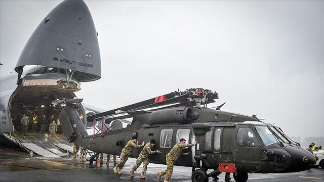 Hava saldırılarından sonra ABD'den Körfez'e asker sevkiyatı