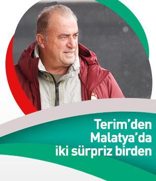 Fatih Terim'den Yeni Malatyaspor maçında iki değişiklik!