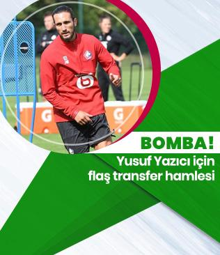 Lazio, Lille'in sezon başında transferi ettiği Yusuf Yazıcı için Fransız ekibine teklif götürecek!