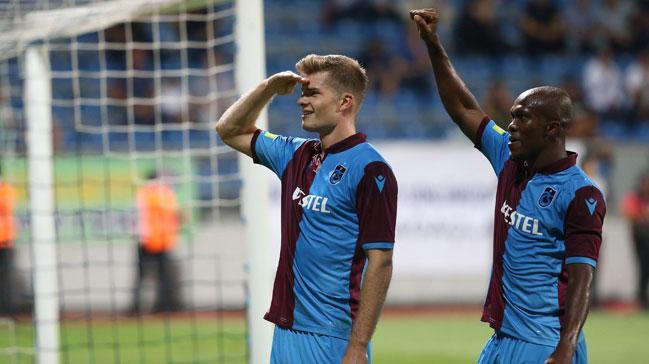 Trabzonspor'da Sörloth ile özel görüşme