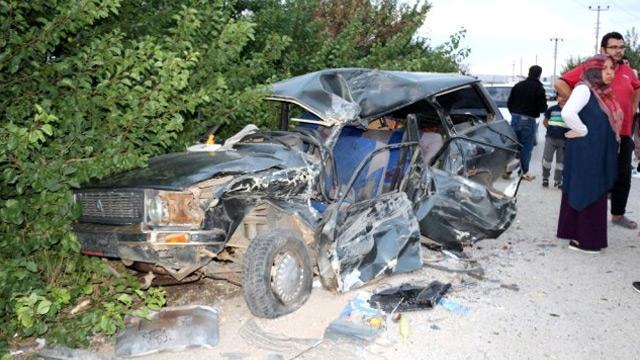 Kazada yaralanan 3 yaşındaki çocuk öldü