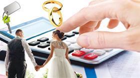 Evlenen çifte 68 bin lira!