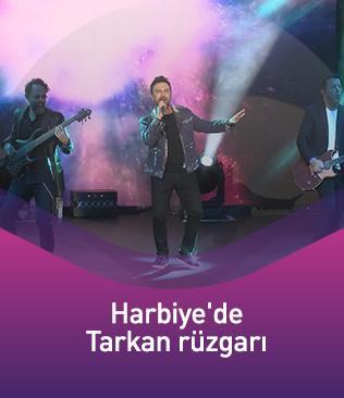 Harbiye'de Tarkan rüzgarı