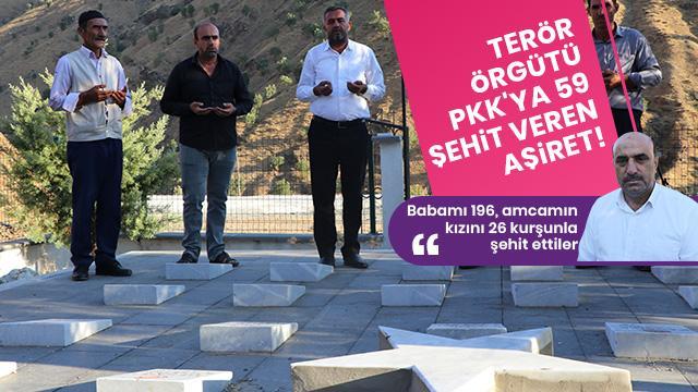 Terör örgütü PKK en büyük acıyı onlara yaşattı: 33 yılda 59 şehit verdiler