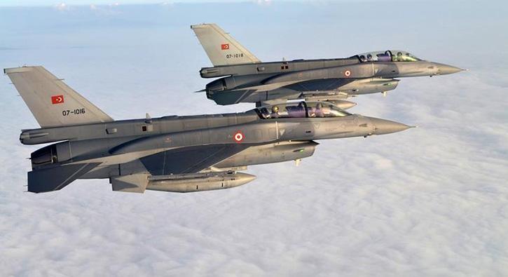 Irak'ın kuzeyine hava harekatı: 7 PKK'lı terörist etkisiz hale getirildi