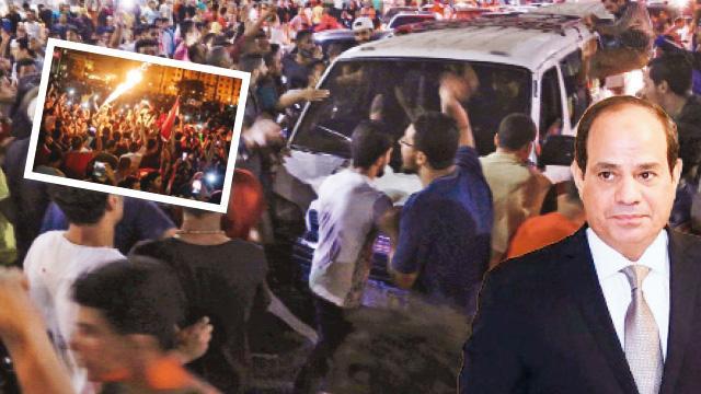 Darbeci Sisi'ye isyan
