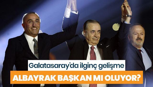 Galatasaray'da ilginç gelişme! Albayrak başkan mı oluyor?