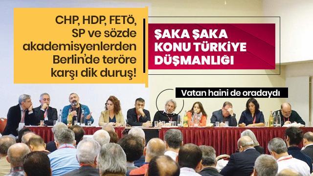 Bu nasıl buluşma! CHP, HDP, FETÖ ve SP aynı çatı altında