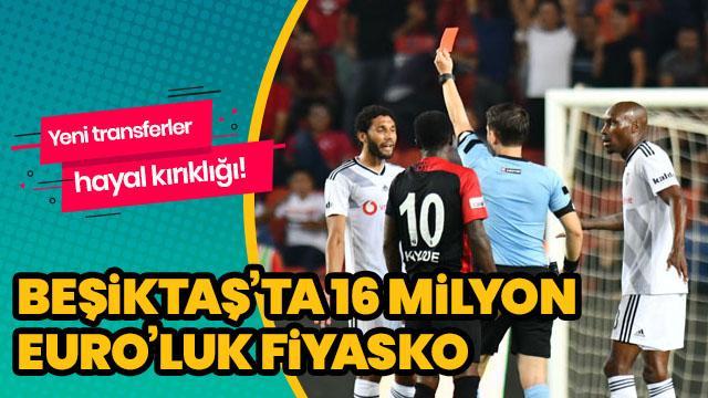 16 milyon euroluk fiyasko