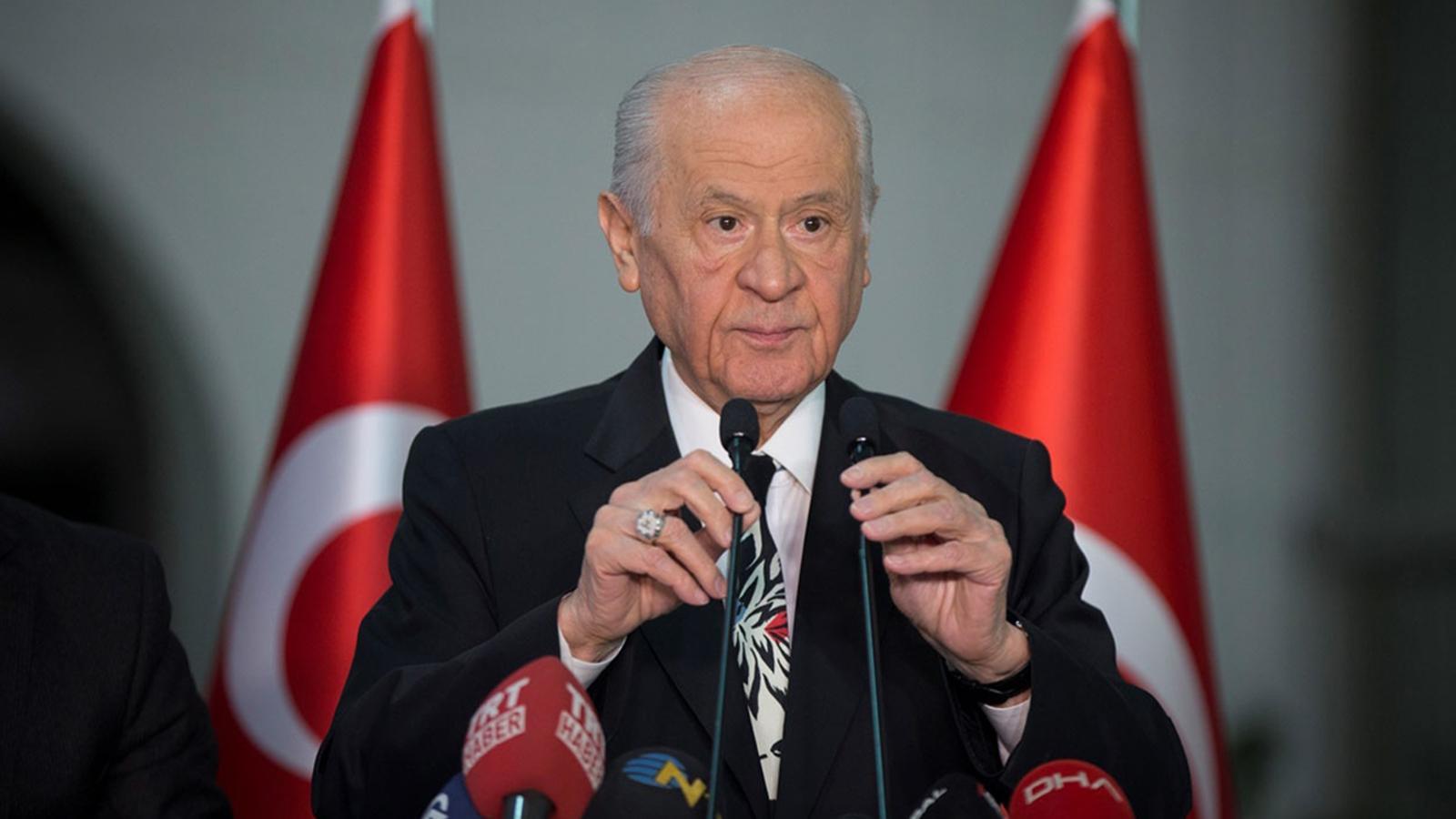 MHP Genel Başkanı Bahçeli, rutin kontroller için hastanede bulunuyor