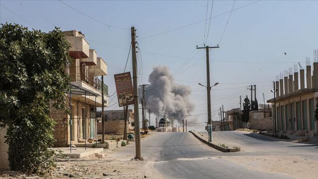 Rusya desteğiyle ayakta duran Esed rejiminin İdlib'e saldırıları sürüyor