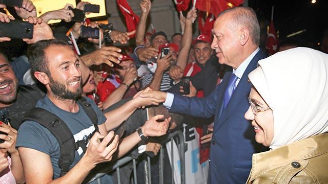Erdoğan'a New York'ta sevgi seli