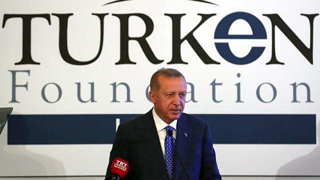 Başkan Erdoğan, TÜRKEN Vakfının yemeğine katıldı