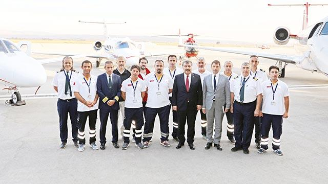 """""""Hava ambulansında dünyada tek ülkeyiz"""""""