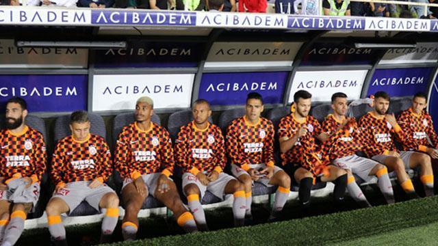 Galatasaray'da 227 milyon TL'lik yedek kulübesi