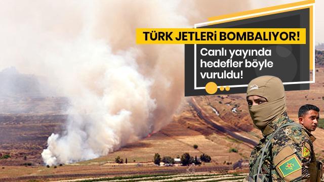 Terör hedefleri canlı yayında böyle vuruldu