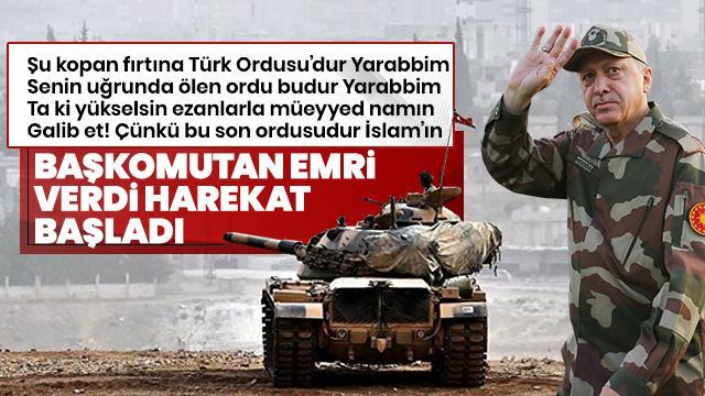 Başkan Erdoğan talimatı verdi, Barış Pınarı Harekatı başladı... İşte dakika dakika son gelişmeler