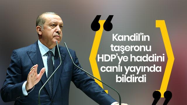 Başkan Erdoğan: Benim ordumu işgal gücü olarak gösteremezsin