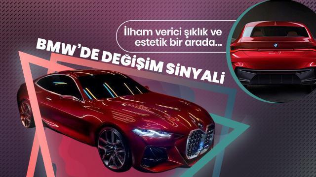 BMW yeni modellerde değişim sinyalini verdi