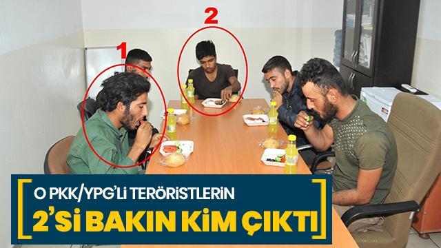 O YPG/PKK'lı teröristlerin 2'si bakın kim çıktı!!