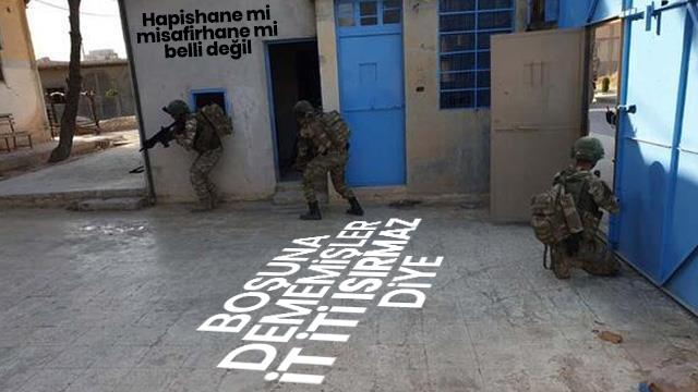 YPG'li teröristlerin, DEAŞ'lıları serbest bıraktığı hapishanenin görüntüleri ortaya çıktı