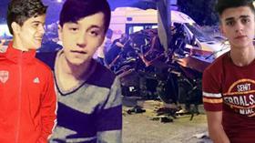 Gaziantep'de 3 arkadaşın korkunç ölümü