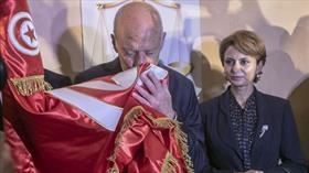 Tunus'ta resmi sonuçlara göre Cumhurbaşkanı Kays Said