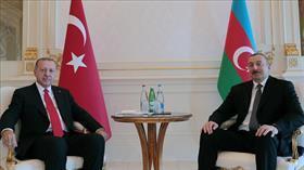 Başkan Erdoğan ile Aliyev bir araya geldi