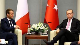 Başkan Erdoğan, Fransa Cumhurbaşkanı Macron ile telefonla görüştü