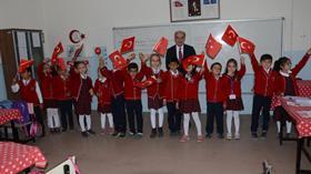 'Şehitler diyarı'nın minik yüreklerinden Mehmetçik'e destek