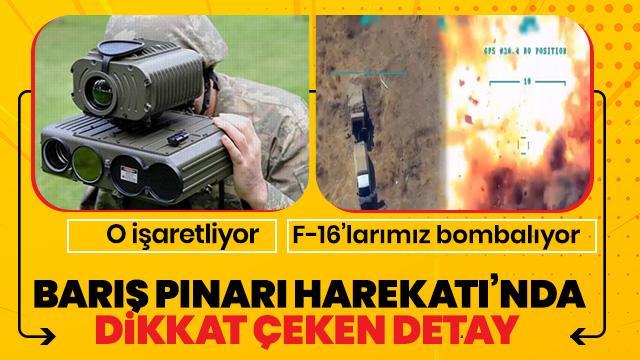 TSK'nın Fıratı'ın doğusundaki 'yerli ve milli' gözü Engerek! O işaretliyor F-16'lar vuruyor