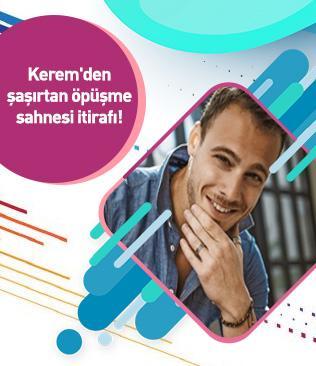 Oyuncu Kerem Bürsin'den Nilperi Şahinkaya itirafı: Soğan ve sarımsaklı dürüm yeyip beni öp diyordu